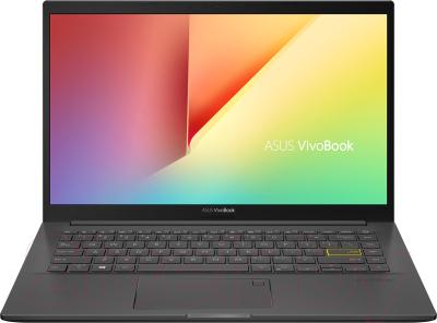 Ноутбук Asus VivoBook 14 K413JA-EB411 ноутбук asus vivobook flip 14 tp412fa 90nb0n31 m02610