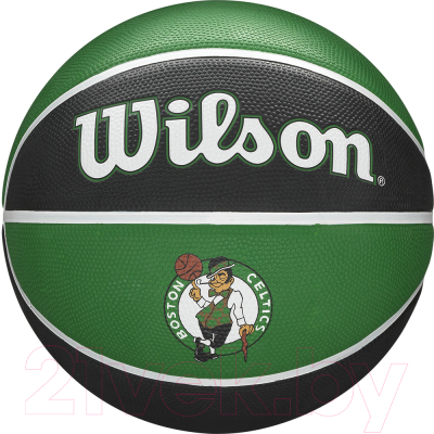 Баскетбольный мяч Wilson NBA Team Tribute Boston Celtics / WTB1300XBBOS