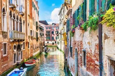 Набор алмазной вышивки РЫЖИЙ КОТ Венецианский переулок / ACA030