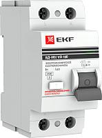 Устройство защитного отключения EKF 2P-16А-30мА (электромеханическое) -