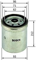 Топливный фильтр Bosch 1457434294 -