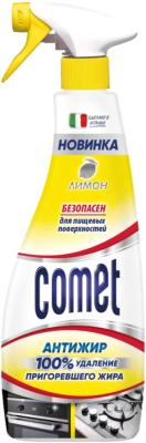 Чистящее средство для кухни Comet Лимон Спрей comet туалетный блок toilet expert антиналет лимон 1 шт