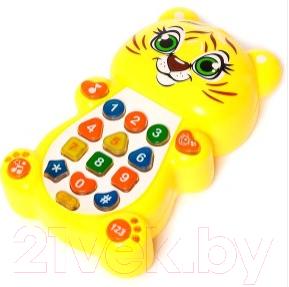 Интерактивная игрушка Zabiaka Тигренок с проектором / 1155428