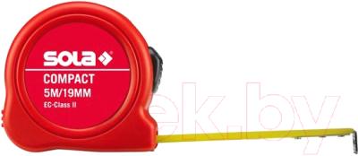 Фото - Рулетка Sola 50500501 уровень 1000мм 2 глазка asx 100 sola бюджетное предложение от sola сделано в австрии 01153301