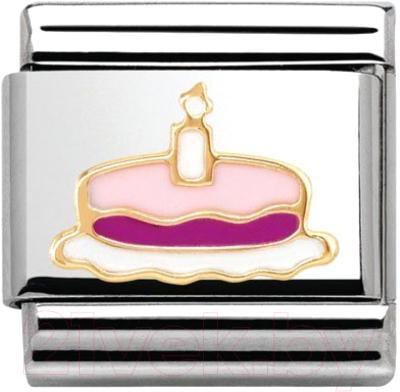 Звено для браслета NominatioN Торт со свечей 030285/05