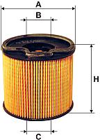 Топливный фильтр Filtron PE816/3 -