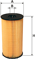 Топливный фильтр Filtron PE973/3 -