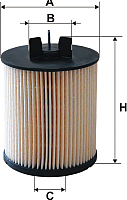 Топливный фильтр Filtron PE973/5 -