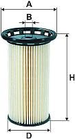 Топливный фильтр Filtron PE973/9 -