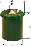 Топливный фильтр Filtron PM858/2 -