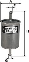 Топливный фильтр Filtron PP831 -
