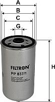 Топливный фильтр Filtron PP837/1 -