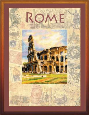 Набор для вышивания Риолис Города мира, Рим / РТ-0026