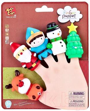 Набор пальчиковых кукол Tang Le Xing Новогодний / TL-22