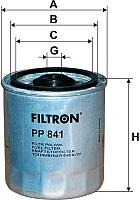 Топливный фильтр Filtron PP841 -