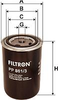 Топливный фильтр Filtron PP861/3 -