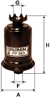 Топливный фильтр Filtron PP863 -