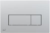 Кнопка для инсталляции Alcaplast M572 (матовый хром) -