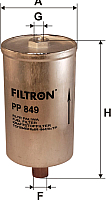 Топливный фильтр Filtron PP849 -