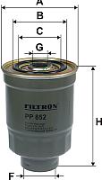 Топливный фильтр Filtron PP852 -