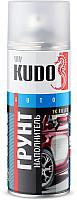 Грунтовка автомобильная Kudo 1K акриловая (520мл, белый) -