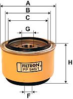 Топливный фильтр Filtron PP946/1 -
