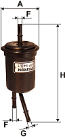 Топливный фильтр Filtron PP949/1 -