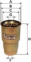 Топливный фильтр Filtron PP950 -