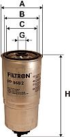 Топливный фильтр Filtron PP968/2 -