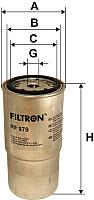 Топливный фильтр Filtron PP979 -