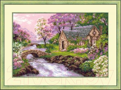 Набор для вышивания Риолис Весенний пейзаж /1098 недорого
