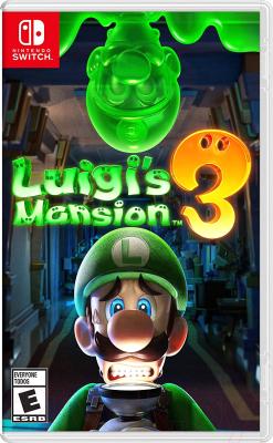 Игра для игровой консоли Nintendo Switch Luigi's Mansion 3