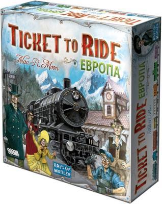 Настольная игра Мир Хобби Билет на поезд: Европа / Ticket to Ride: Европа 1032