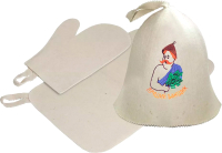 Набор текстиля для бани Банные Штучки 41085 -