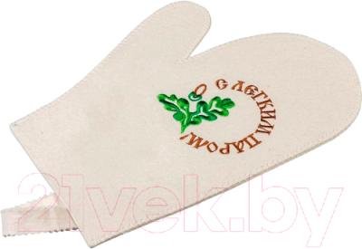 Рукавица для бани Банные Штучки С легким паром! (41043)
