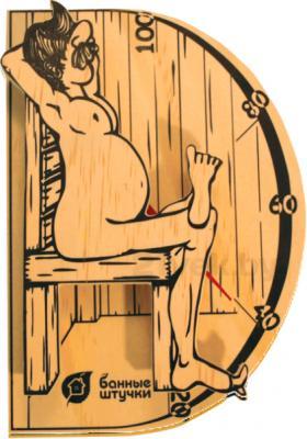 Термометр для бани Банные Штучки В здоровом теле-здоровый дух (18003)