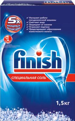 Соль для посудомоечных машин Finish Специальная соль (1.5кг)