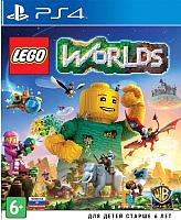 Игра для игровой консоли Sony PlayStation 4 Lego Worlds -