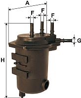 Топливный фильтр Filtron PS980/4 -