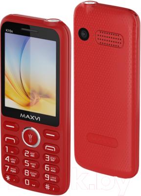 Мобильный телефон Maxvi K15n мобильный телефон maxvi b9 black