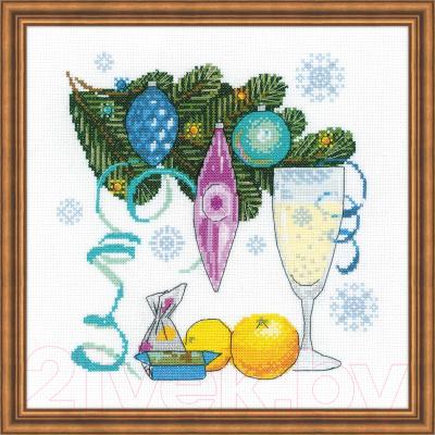 Набор для вышивания Риолис С Новым годом! / 1597 набор открыток с новым годом с волшебными предсказаниями
