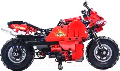 Конструктор управляемый CaDa Мотоцикл / C51024W