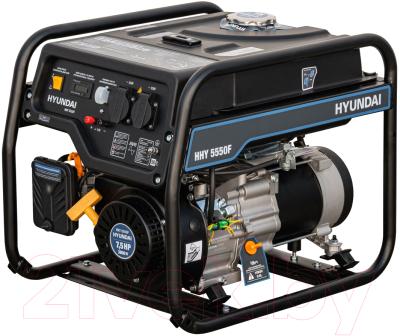 Бензиновый генератор Hyundai HHY 5550F