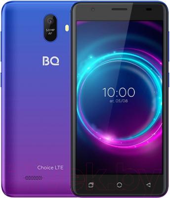 Смартфон BQ Choice LTE BQ-5046L (ультрафиолет) смартфон bq mobile bq 5046l choice lte ultraviolet