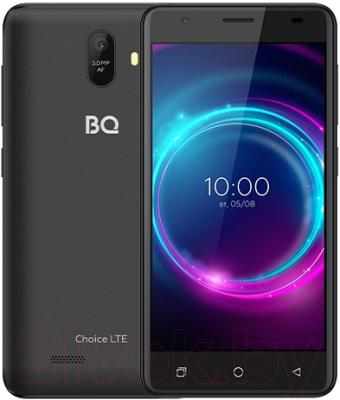 Смартфон BQ Choice LTE BQ-5046L (черный графит) смартфон bq mobile bq 5046l choice lte ultraviolet