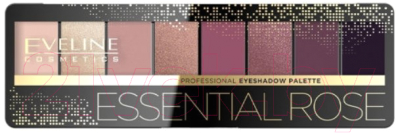 Палетка теней для век Eveline Cosmetics Eyeshadow Professional Palette 05 Essential Rose guerlain palette golden bee палетка теней для век