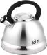 Чайник со свистком Lara LR00-59 -