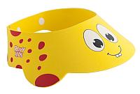 Козырек для мытья головы Roxy-Kids Желтый жирафик / RBC-492-Y -