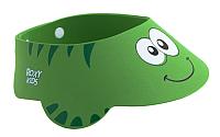 Козырек для мытья головы Roxy-Kids Зеленая ящерка / RBC-492-G -