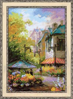 Набор для вышивания Риолис Цветочная улица / 1306